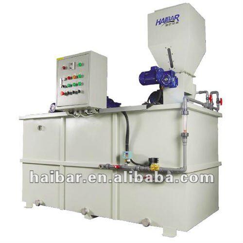 Automático de polímero de preparación de la unidad