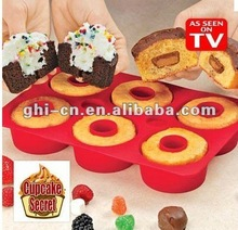 2015 newest Silicone bakeware & Cupcake Secret AS SEEN ON TV