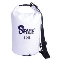 10L PVC mesh waterproof dry bag with shoulder strap / outdoor bag