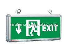 LED emergency safety sign plate