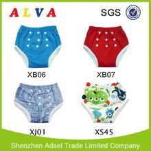 Hot-Welcomed Bamboo Fiber Waterproof Potty Training Pants High Waist Baby Pants