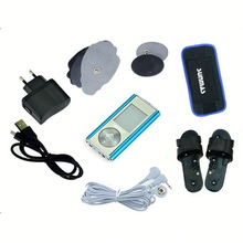 Domas SM9168 so cool massage with pads slippers Shockwave therapy tens ems massager