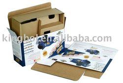 E flute Corrugated carton box , printed box, printed carton