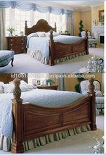 2015 Antique bedroom furniture PTICF-AB24,classical carved bedroom furniture