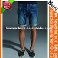 Moda novo estilo shorts jeans 100% algodão barato shorts jeans para homens ( HY2979 )