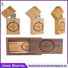 Gift Natural Wooden USB Flash Drive With Package