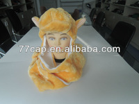 2013 FASHION Winter Animal Hats With Long Gloves