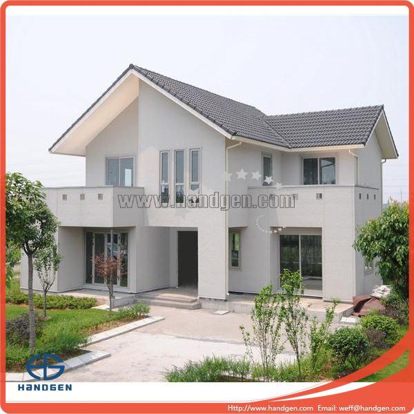 China Modern European Style Villa Prefab Kit House Modular