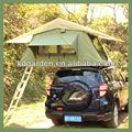 carro telhado da barraca de camping com awining