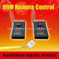 4 80m canales de control remoto de fuegos artificiales sistema de disparo, con pasado el ce, inalámbrico de fuegos artificiales de control de sistema de disparo( db02r- 4)