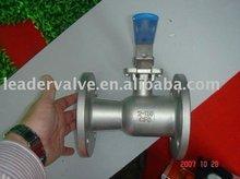 Uni-body floating ball valve