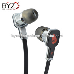 In ear headphones with microphone and volume control