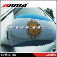 Customer flag car side mirror cover german car mirror cover