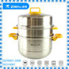 3-layer stainless steel food steamer hot new products for 2014