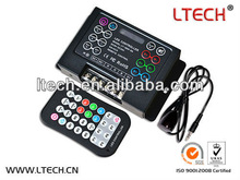 multifunctional DIY rgb led controller with programmable function IR remote