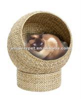 Unique Cat House Banana Leaf Cat Furniture Bed Natural Handmade