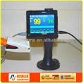 De alta qualidade da tela de toque carro usado bom preço digital medidor de oxigênio no sangue e monitor