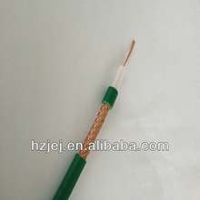 Coaxial cable,KX6A cable, KX6 cable 75 Ohm Green PVC! CE/RoHS Certificate! Brand OEM! Export to Algeria and France Before!