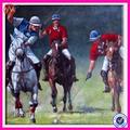 la escena de caza de carreras de caballos de pinturas al óleo de la decoración