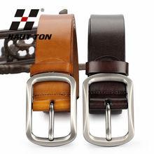 2014 new vintage genuine Leather Belt for men wholesale gaungzhou China factory
