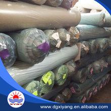 pvc leather stocklot sold in kilograms made in china