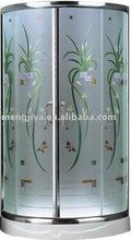 2013 new design glass simple shower enclosure