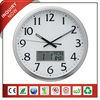 Analog LCD Wall Clock with Digital date