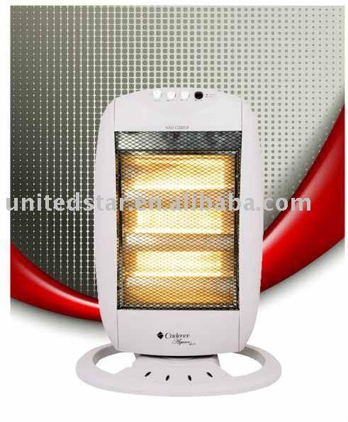 Ventilateur de chauffage, Chauffe - quartz, Ptc chauffe - cerarnic, Réchauffeur d'huile, Convecteur, Élément populaire, Vente chaude halogène chauffe