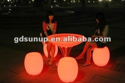 LED Bar Furniture/Bar Table/Bar Chair KDP-ET001