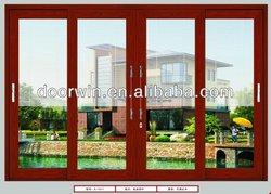 latest design automatic aluminum glass door frame