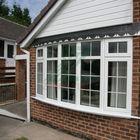 Decorative interior window grills for double glazing window