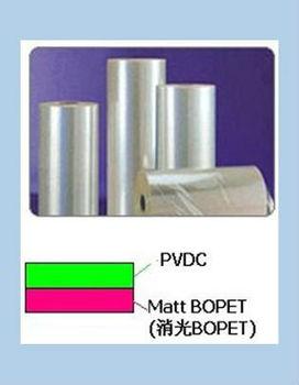 PVDC-MATT BOPET / Plastic film