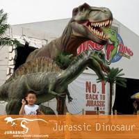 Huge Outdoor Attractive Funny Dinosaur Park