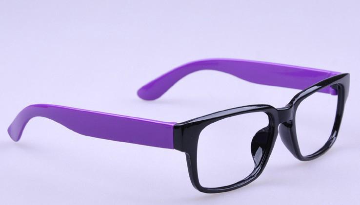 Цвет оправы: Фиолетовый черный 4
