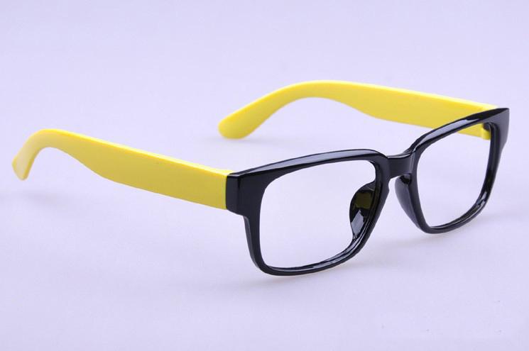 Цвет оправы: желтый черный 8