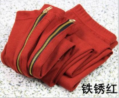 Цвет: ржавчины красным
