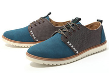 2014 Free Shipping Men Suede Shoes Big Size Shoe European Style Large Casual Shoes XMR071(China (Mainland))