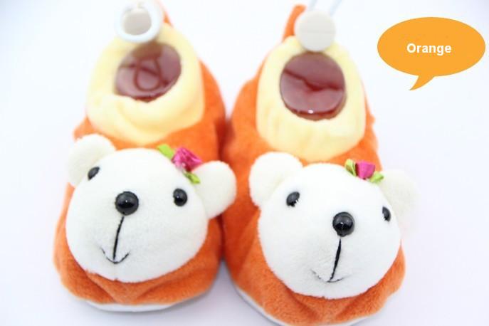 Цвет: оранжевый медведь