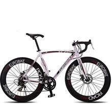 Bicicleta Speed 14 Road Bike 6061 Aluminum Alloy Frame 700C X 23C Wheel Bicicleta Disc Brake Bycicle 70 Spokes Flat Tire(China (Mainland))