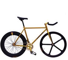 2014 City Fixed Bike Fixed Gear Bicycle Fiets 700C Fixed Gear Bike Bicicleta  Carbon Steel Frame Fixed Gear Frame  Bicicleta(China (Mainland))