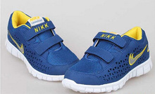 13 Color Children Sneakers  cheap kids Girls sports shoes Brand Fashion Boys Kids Running Sport Shoes size 25-37(China (Mainland))