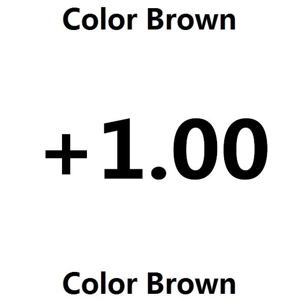 Цвет оправы