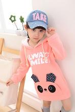 2014 new autumn and winter girls hoodies girls sweatshirts Kids Hoodies Girl's kitty Sweatshirts Long Sleeve Girl's Coat(China (Mainland))
