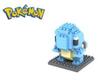Diamond Building Blocks Pokemon Figures Model Toys Pikachu Charmander Bulbasaur Squirtle Mewtwochild Child Christmas gift 9+(China (Mainland))