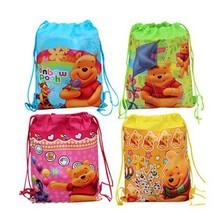 Hot Princess Sofia Children Cartoon Drawstring School Backpacks, Non-woven Kids School Shoulder Bags,mochilas school kids gift(China (Mainland))