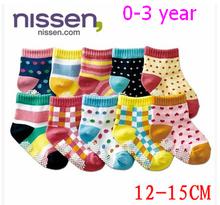 20pcs=10pair baby anti slip socks toddlers meias infantil brand children casual designer winter warm christmas kid slippers sock(China (Mainland))