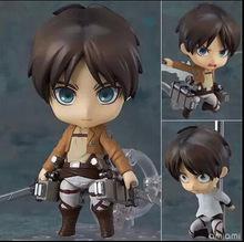 "Free Shipping Cool 6"" Attack on Titan Shingeki no Kyojin Scouting Legion Levi Boxed PVC Action Figure Model Toy Gift Figma(China (Mainland))"