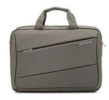 WEIBIN 0207 Waterproof Nylon 15inch Computer Bag Men Casual Bussiness Handbag Women Travel Messenger Bags New File Briefcases(China (Mainland))