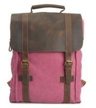 Men/Women Korea Fashion Canvas School Backpack Rucksack Shoulder Bag Satchel Bag CB0013(China (Mainland))