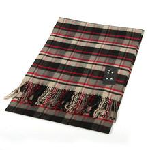 2014 winter brand Men British Classic Warm Cashmere feel Stripe Grid Plaid Long Scarf scarves Shawl 9colors 190x32cm Sc0020(China (Mainland))